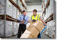 Company outsourcing to warehouse
